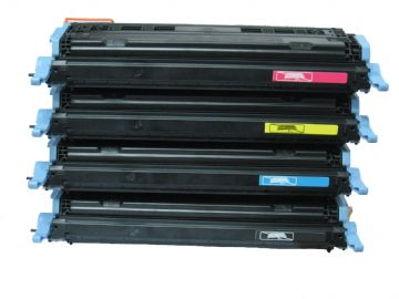 HP 124A Refurbished Toner Pack (B/C/M/Y) - VALUEPACK